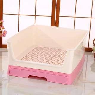 【預購】抽屉式圍欄狗廁所便攜抽拉式宠物廁所尿盆狗狗用品
