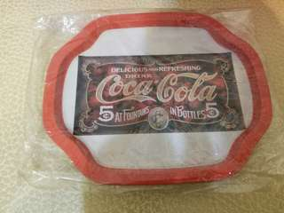 Vintage Coke Coca-Cola Metal Tray (Collector Item)