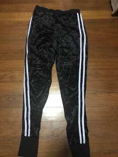 Velvet Material Pants