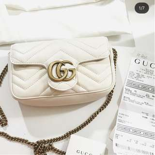 Gucci GG marmont mini bag shoulder bag