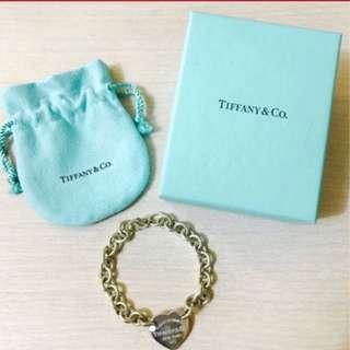 Tiffany手鍊 - Return to Tiffany 心形吊飾手鏈