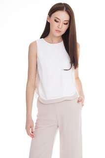 TCL Ossa Casual Top in White