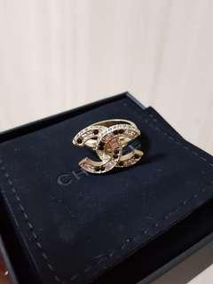 BNIB Authentic Chanel Ring, Size 50