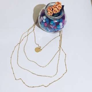 4-Layer Necklace Choker