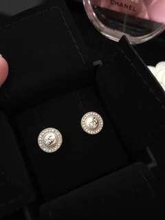 Chanel Earrings pearl