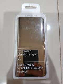 Case flip cover samsung S8 original