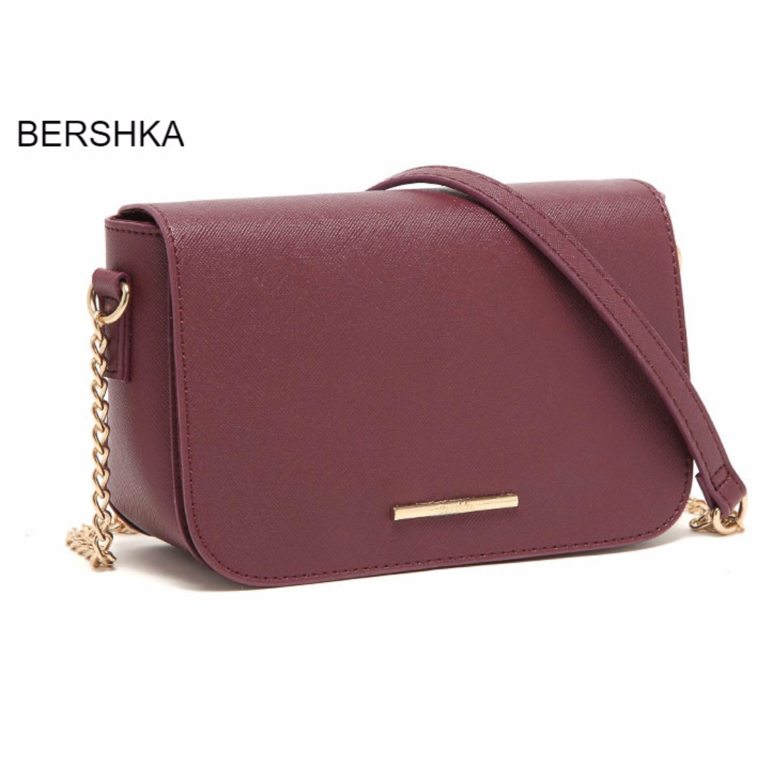 5863b440f5a0 SPECIAL OFFER !!   READY STOCK   BERSHKA INSPIRED CHARM SLING BAG ...