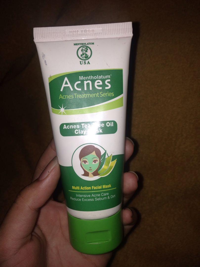 Acnes Tea Tree Oil Clay Mask 50gr Update Harga Terkini Dan 50g Shopee Indonesia