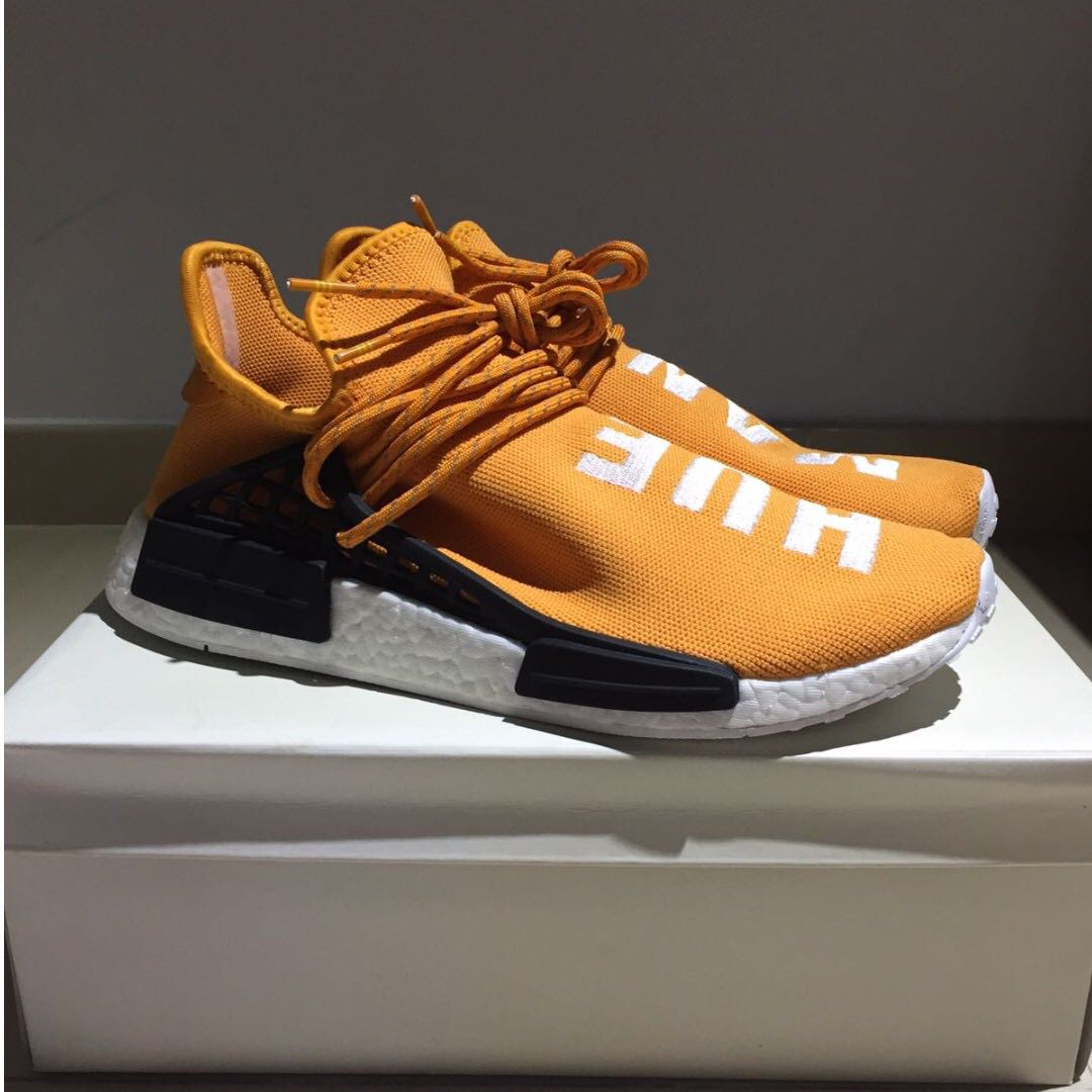 reputable site a8553 f97d2 Adidas Human Race NMD 'Tangerine'