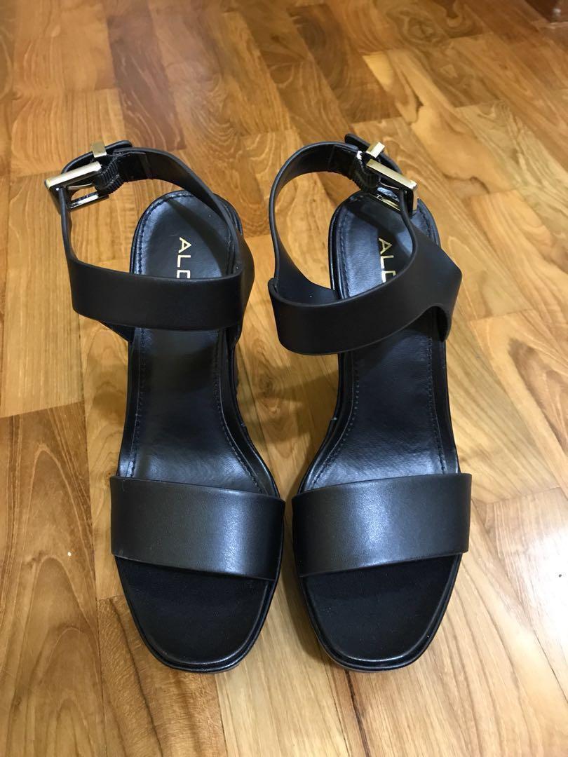 4725ff0743d Aldo black platform heels