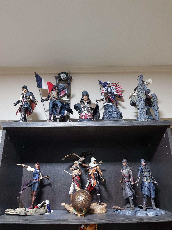 Assassins Creed Lot Of 11 Figures 100 Original Toys Games Bricks Figurines On Carousell