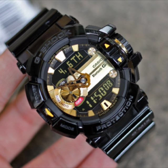 on sale 29a31 3fbf9 Authentic Brand New Casio G-Shock GBA-400-4C Bluetooth ...