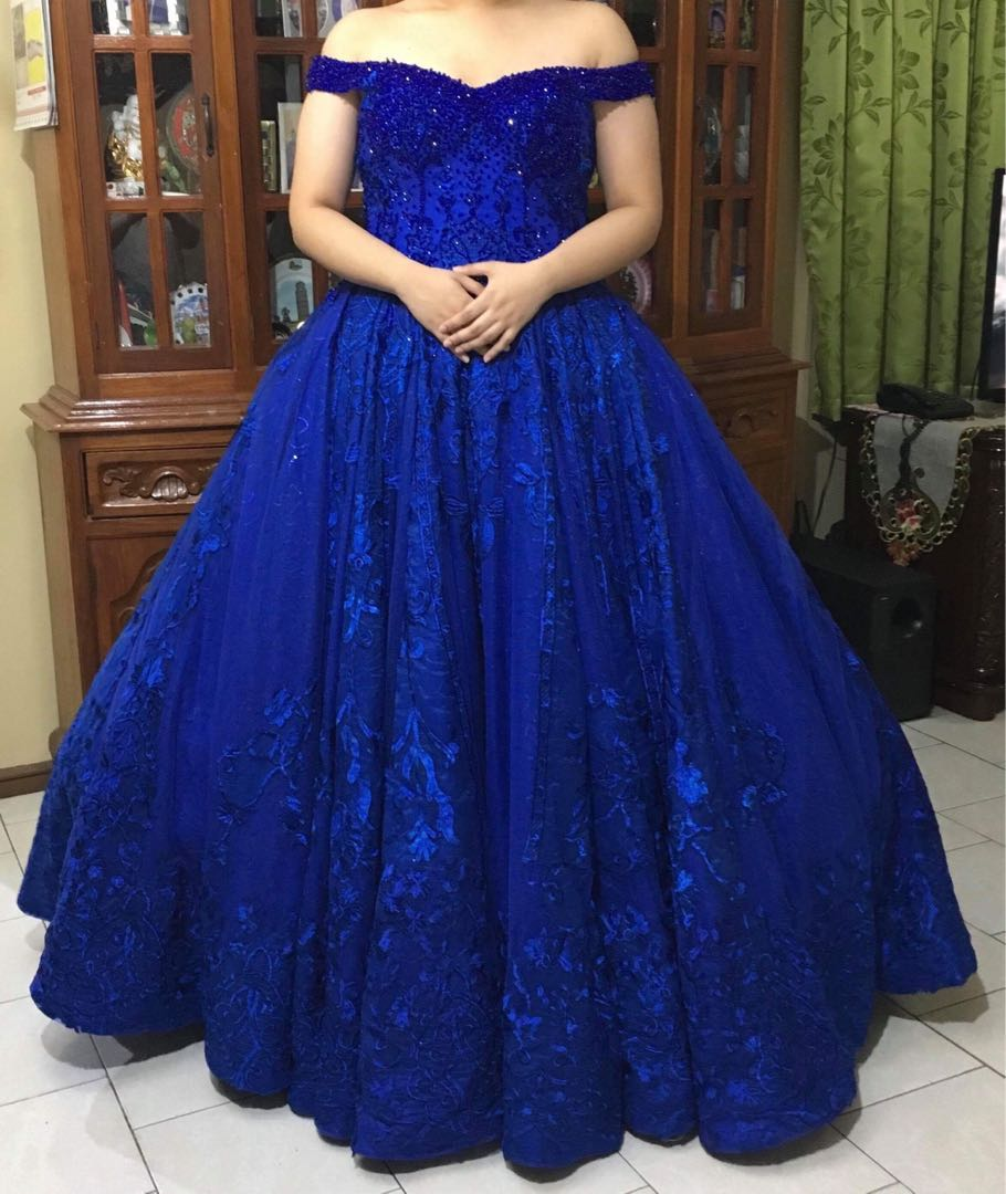 Ball Gown (FOR RENT), Women\'s Fashion, Clothes on Carousell