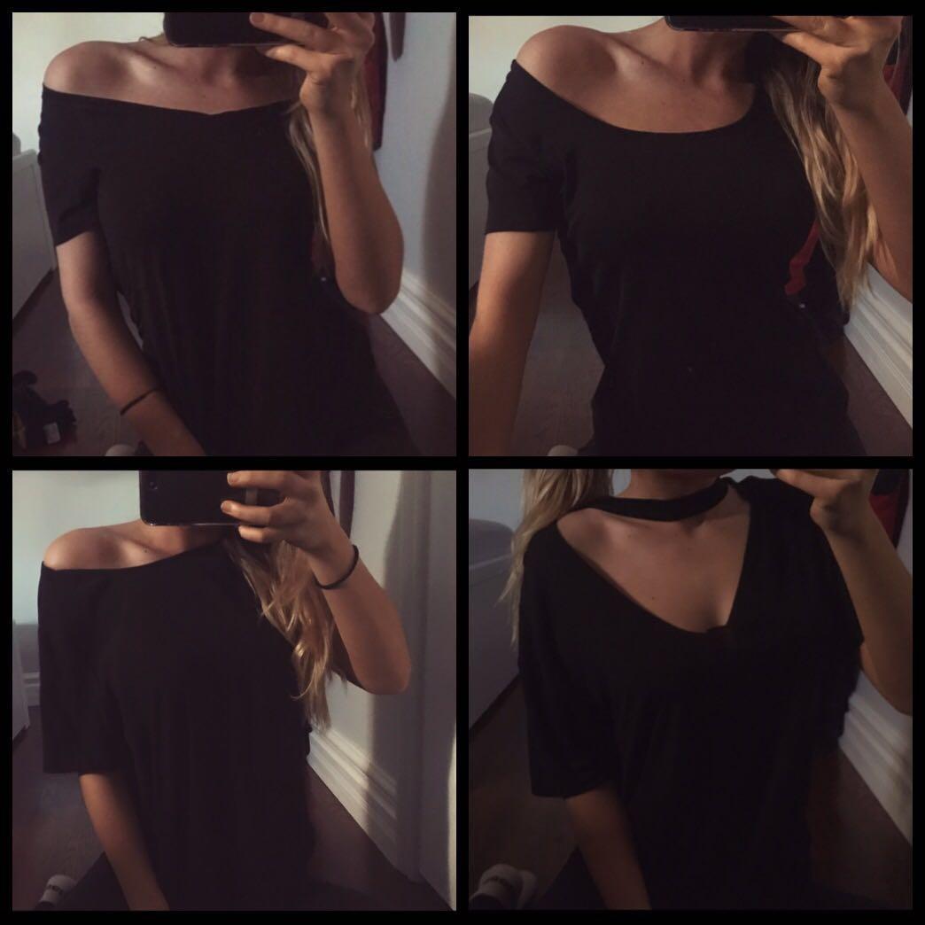 Black tshirts bnwt (all for $25)