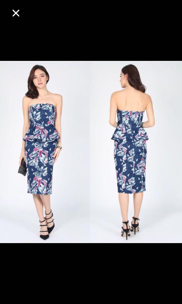 595cdf4784af BNWOT Love Bonito Magna peplum dress, Women's Fashion, Clothes ...