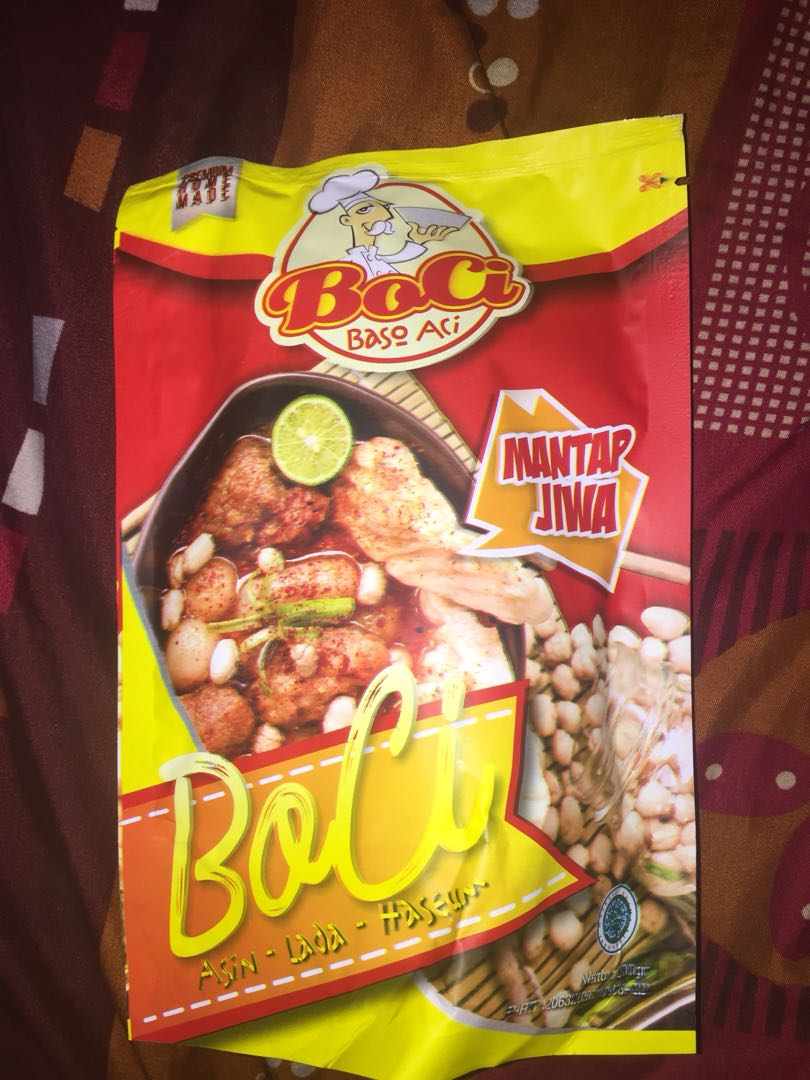 Boci Bakso Aci Food Drinks Packaged Snacks On Carousell Moring Cimol Kering Original Ampamp Pedas