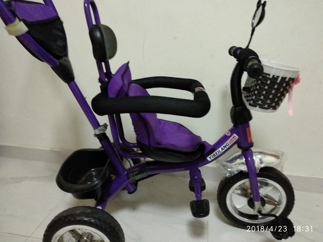 Children push Tricycle for sale, Babies & Kids, Strollers