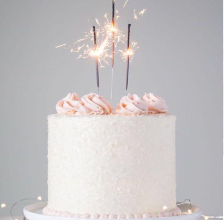 Enjoyable Cake Sparklers Birthday Cake Sparkling Candle On Carousell Funny Birthday Cards Online Inifodamsfinfo