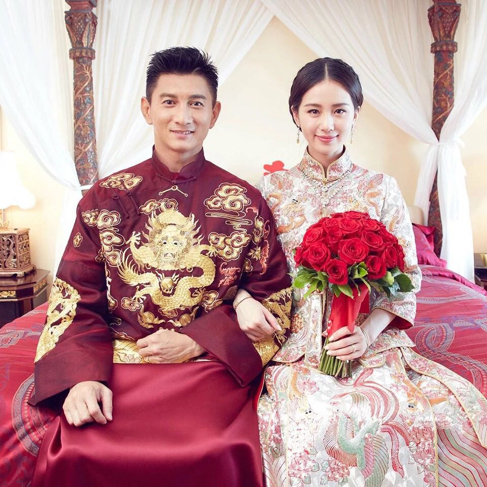 chinese traditional wedding gown, men's fashion, clothes on