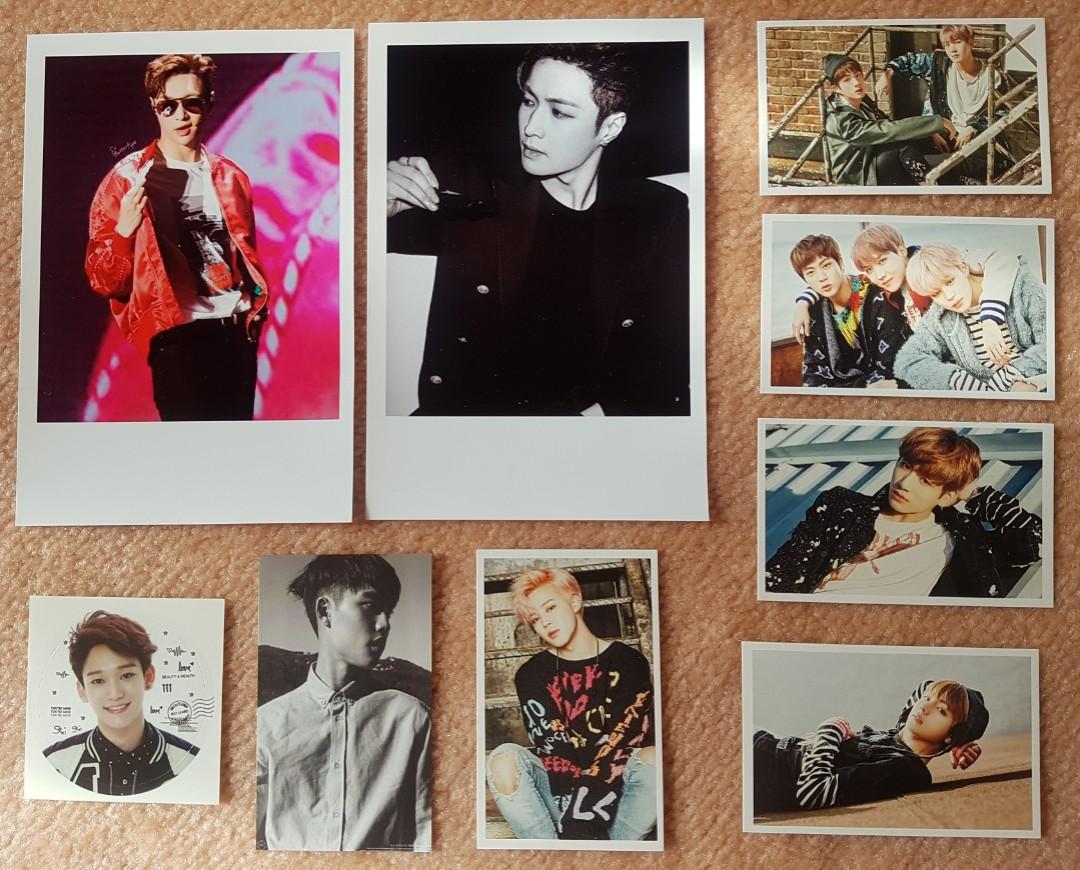 EXO & BTS Unoffocial Prints
