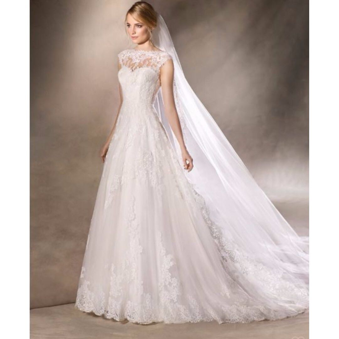 po] free delivery - spanish la sposa havana wedding gown