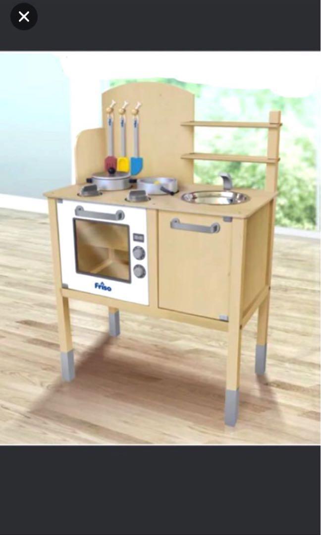 Friso Wooden Kitchen Set Bnib Babies Kids Toys Walkers On