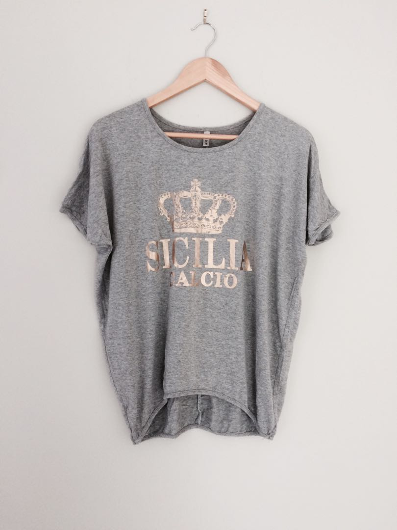 Grey Baggy Top