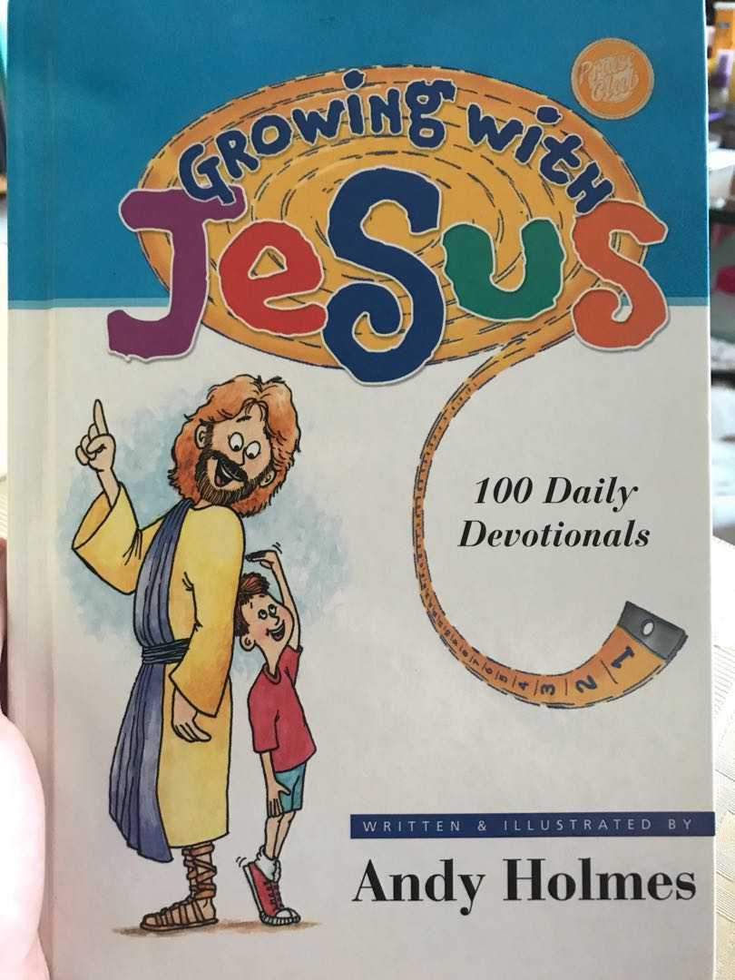 Growing with Jesus devotional book, Books & Stationery, Children's Books on  Carousell
