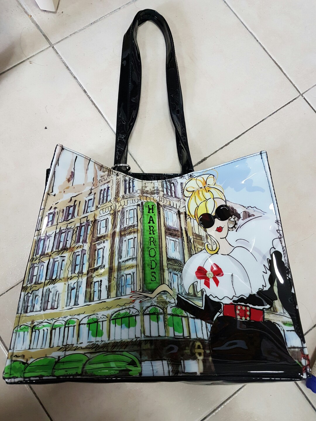5ec4c06d12 Harrods tote bag