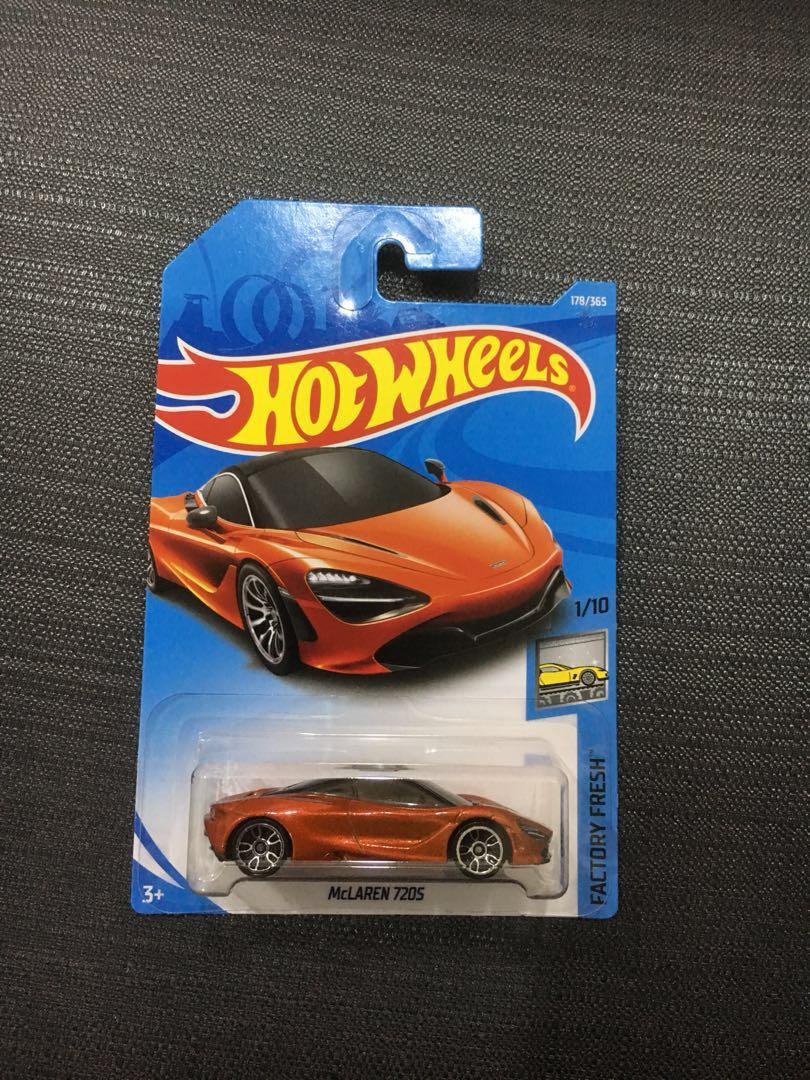 Hotwheels Mclaren 720soffer Toys Games Bricks Figurines On 720s Carousell