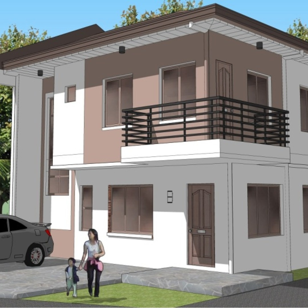 House and Lot in Mindanao Ave, Cresta Verde Exec Subd. Brgy. sta Monica