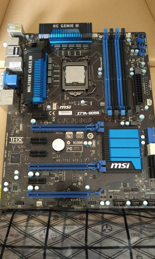 Working Intel Z77 Motherboard with i5-k Processor