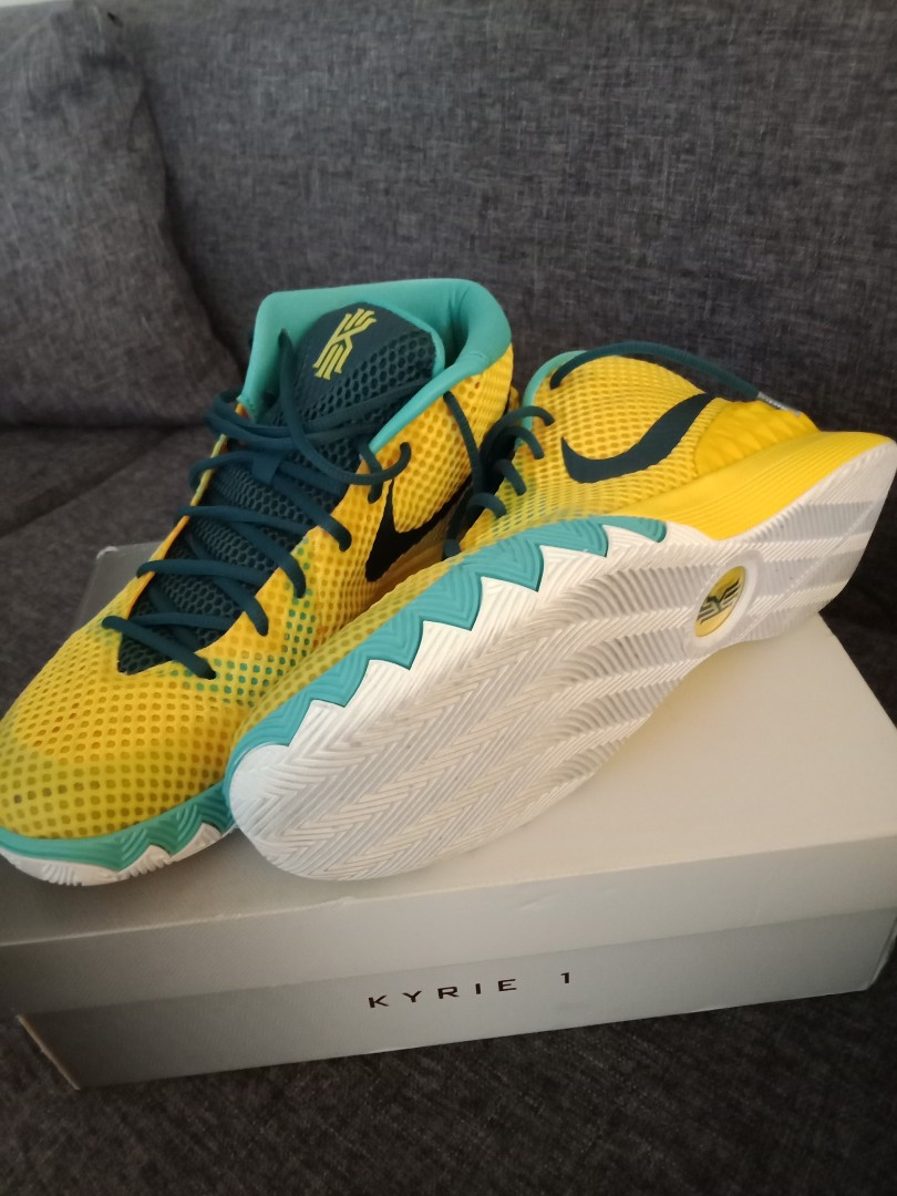 kyrie 1 nike letterman authentic repriced mens fashion