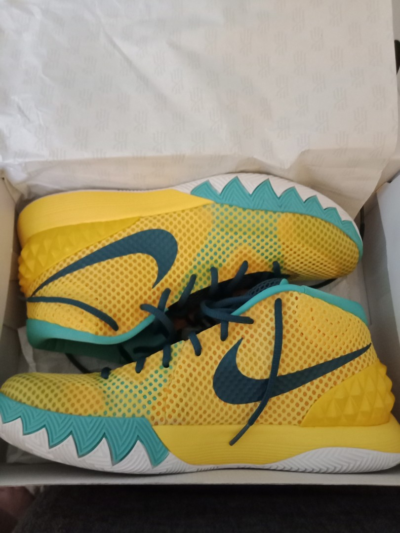 kyrie 1 nike letterman authentic repriced mens fashion footwear on carousell