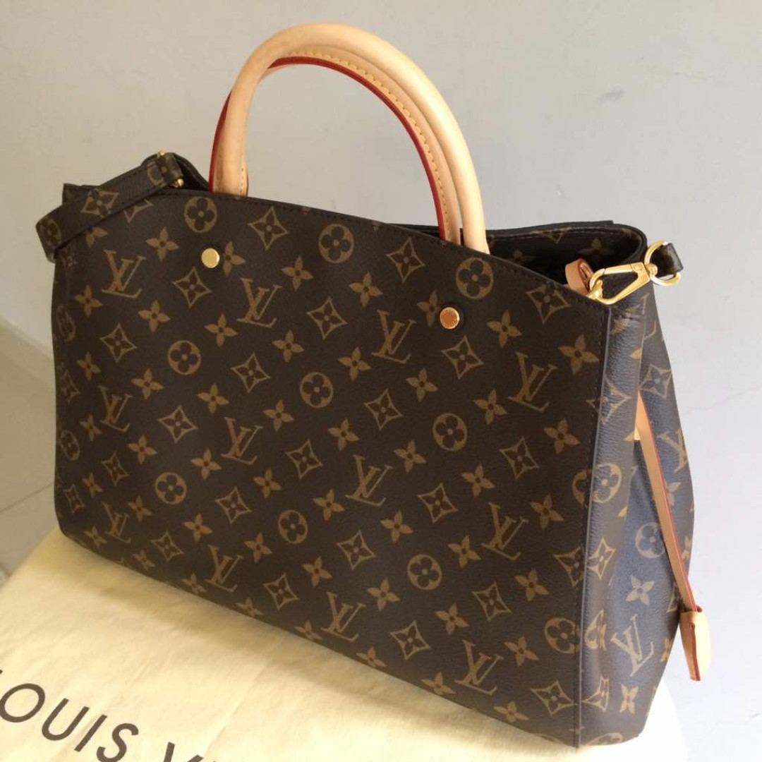 Louis Vuitton LV Montaigne GM original ce917abaa8576