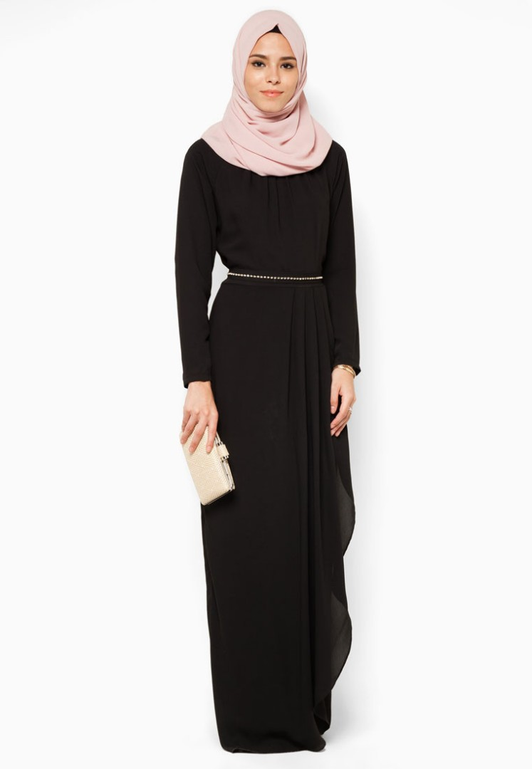 a0316c6a48 LUXE Black Dinner Dress from Zalora