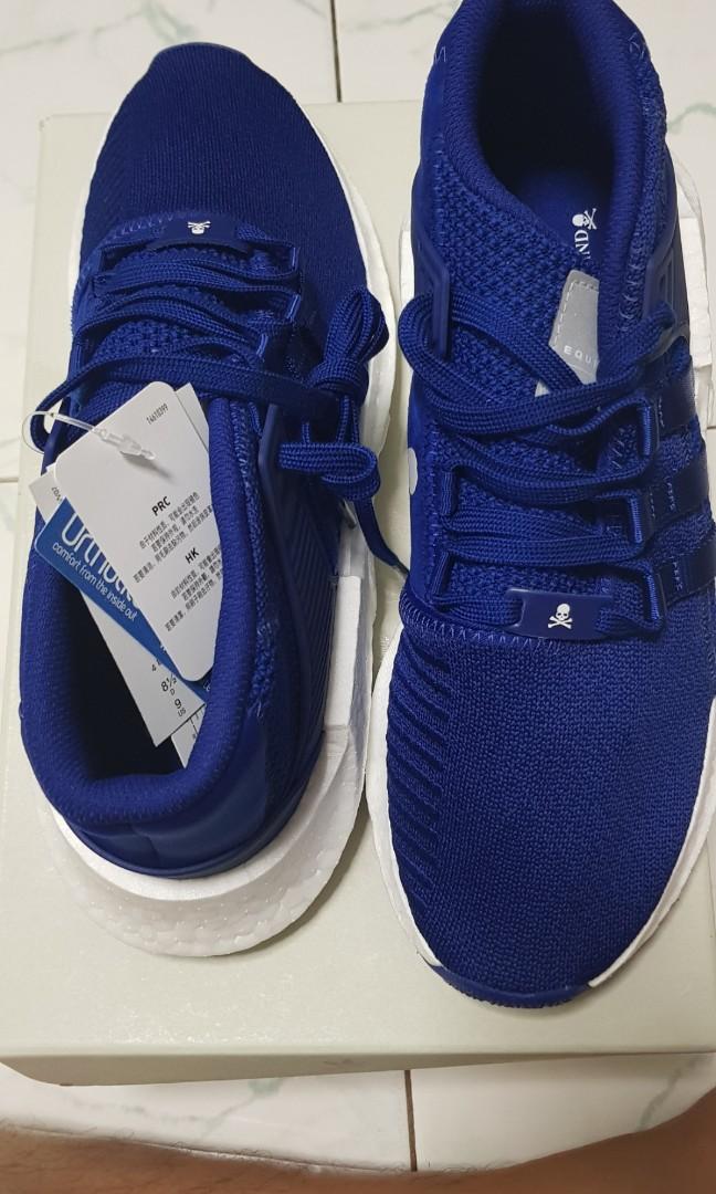 9a56e1e2b0e Mastermind World X Adidas EQT Support Mid (Blue)