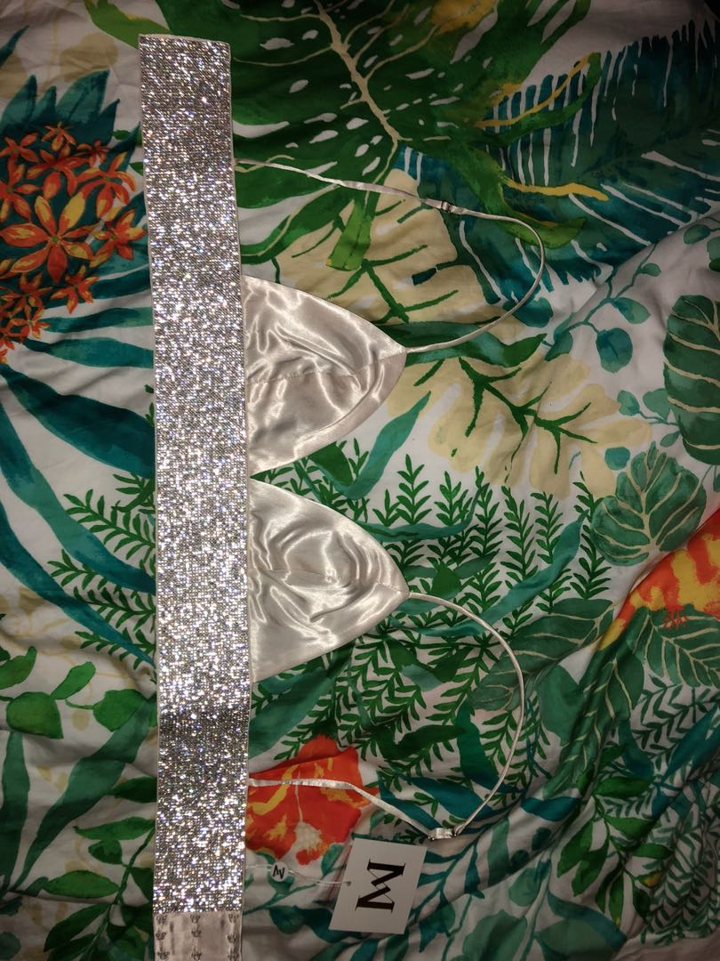 ceac3bd743 Meshki - Ilona Diamonte Bralette - Ivory