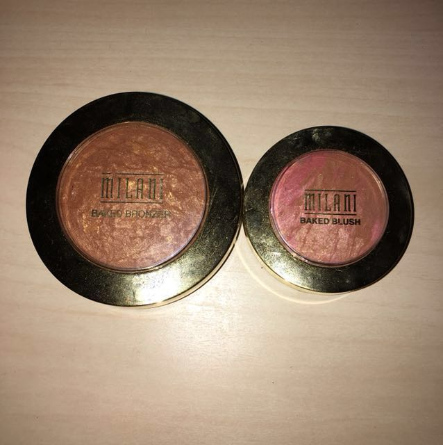 Milani baked bronzer and blush