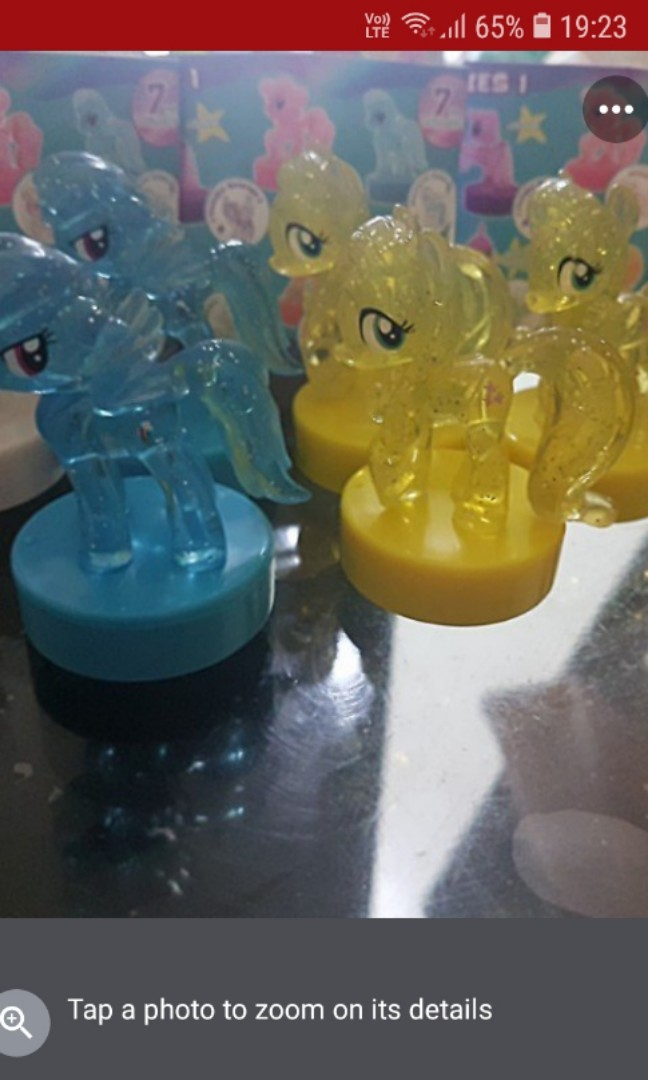 Mlp My Little Pony Stamps Rainbow Dash Babies Kids Toys