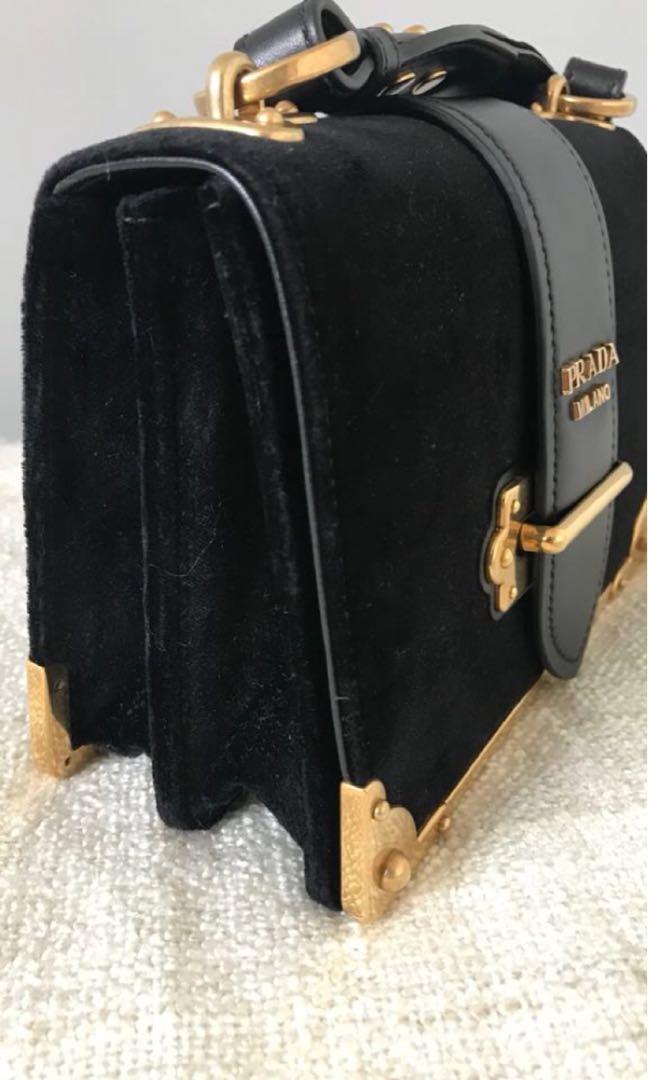NEW authentic Prada Cahier bag