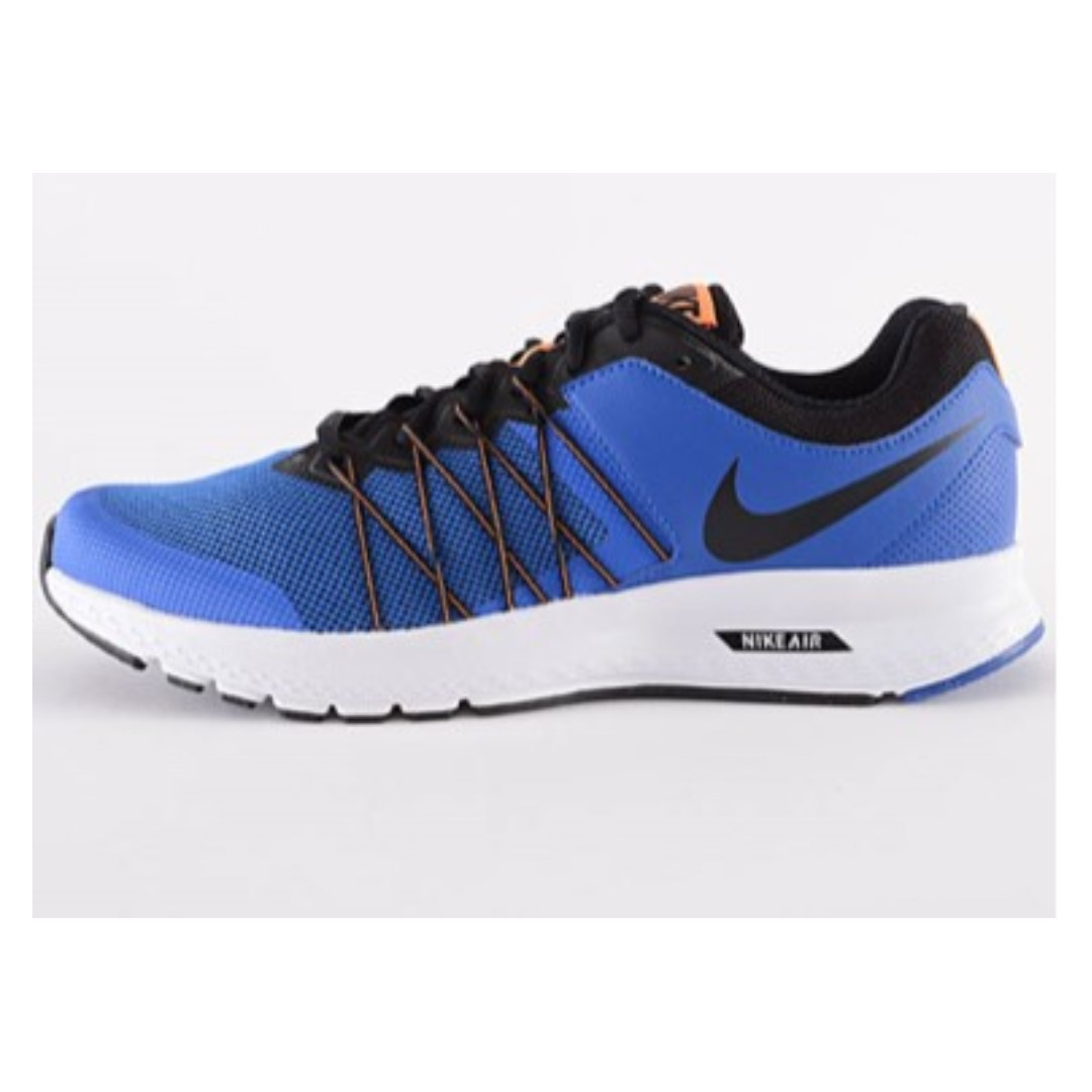 039d771cb7f Nike Air Relentless 6 MSL Running Shoes for Men (Black Blue)  SIZE ...