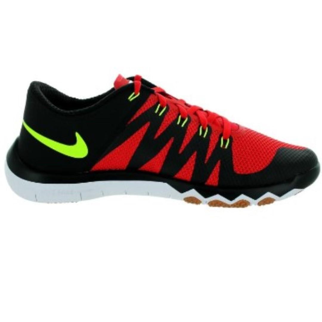 sale retailer a9632 438ec Nike Free Trainer 5.0 V6 Running Shoes for Men (Black/Red ...