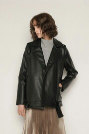 Oak and Fort Leather Jacket XS worn once