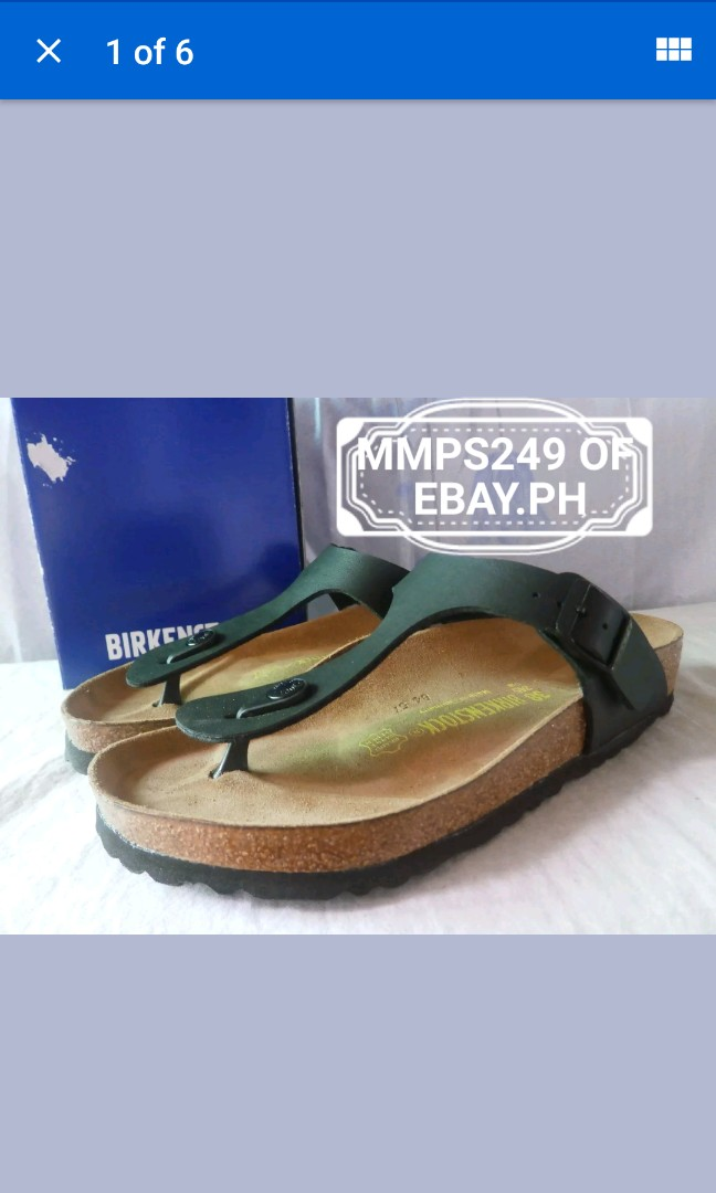 Original Usa Birkenstock On From Gizeh Carousell Sandals N8nm0w