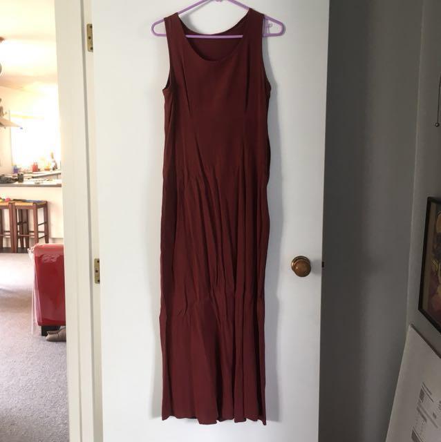 Plaid Maxi Summer Dress