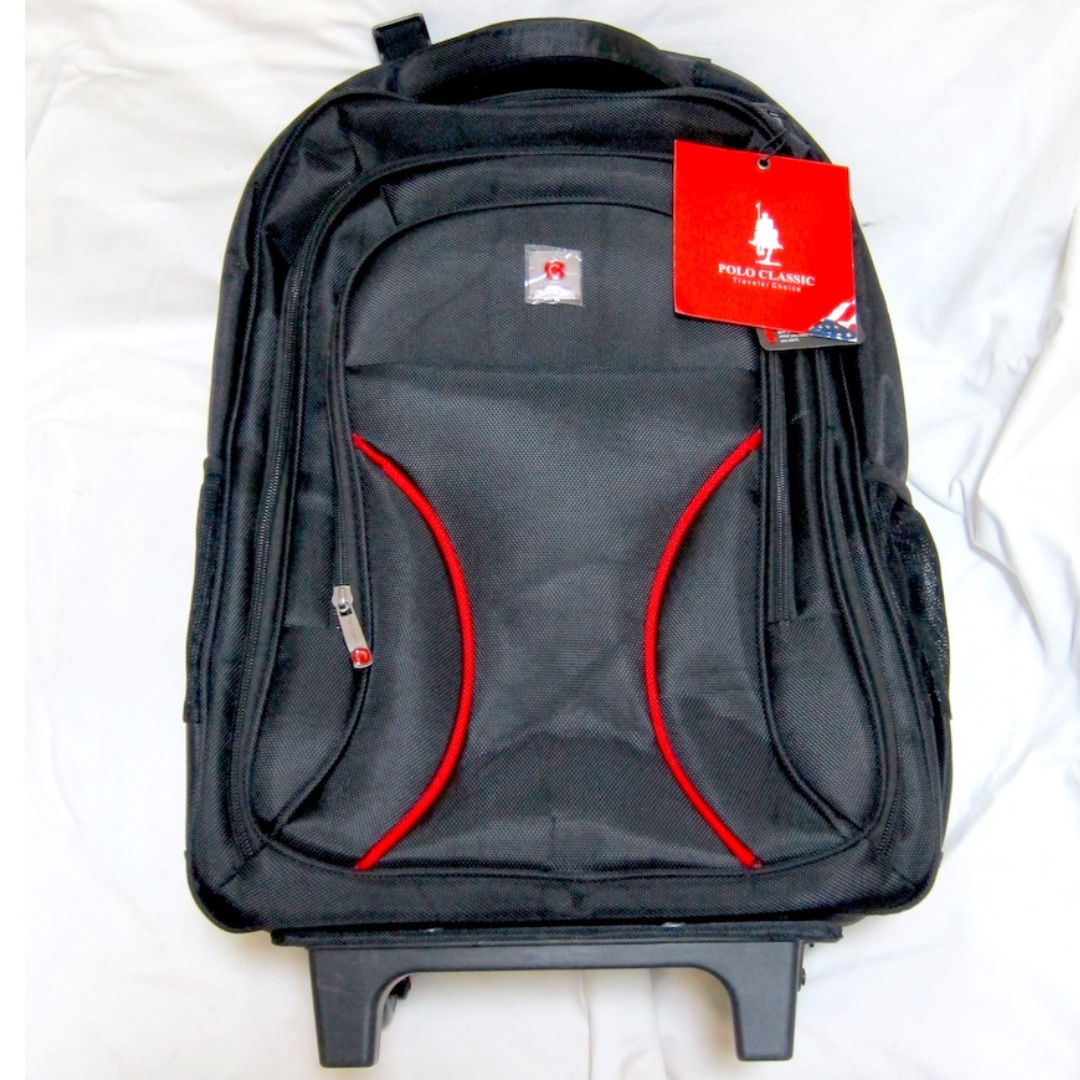 Polo Classic Laptop Trolley - Back Pack Detachable Bag 05b927e170488
