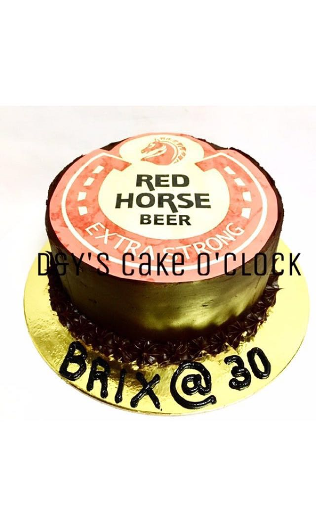 Redhorse Chocolate Cake Food Drinks On Carousell