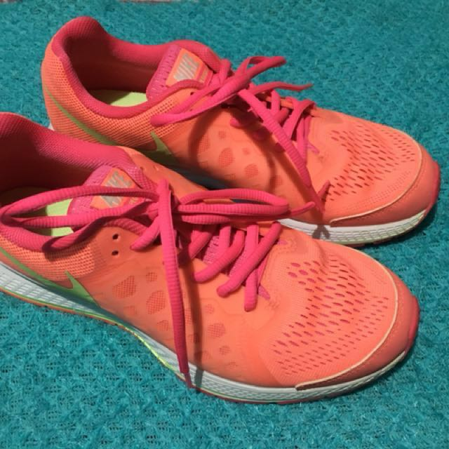 competitive price e9802 4f2c6 REPRICED! Nike Zoom Pegasus 31 (GS) Neon Color(Orange Pink Yellow ...