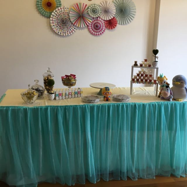 Table Skirting And Party Decorations Rental Design Craft Others